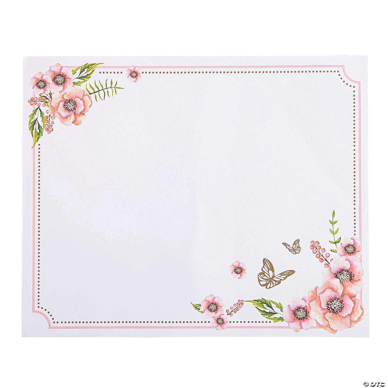 Butterfly Floral Placemats Oriental Trading
