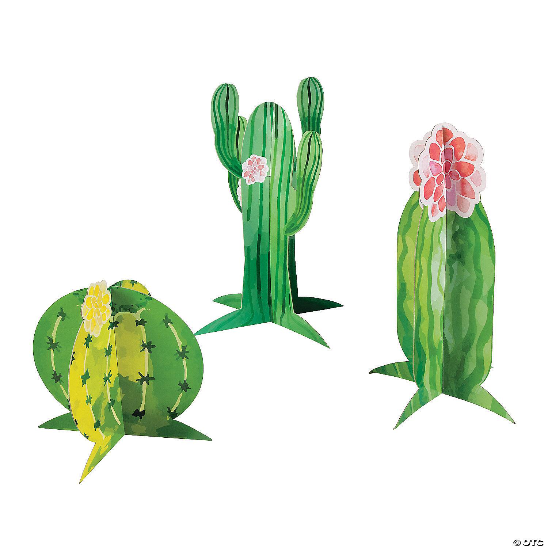 Cactus Party Centerpieces Oriental Trading