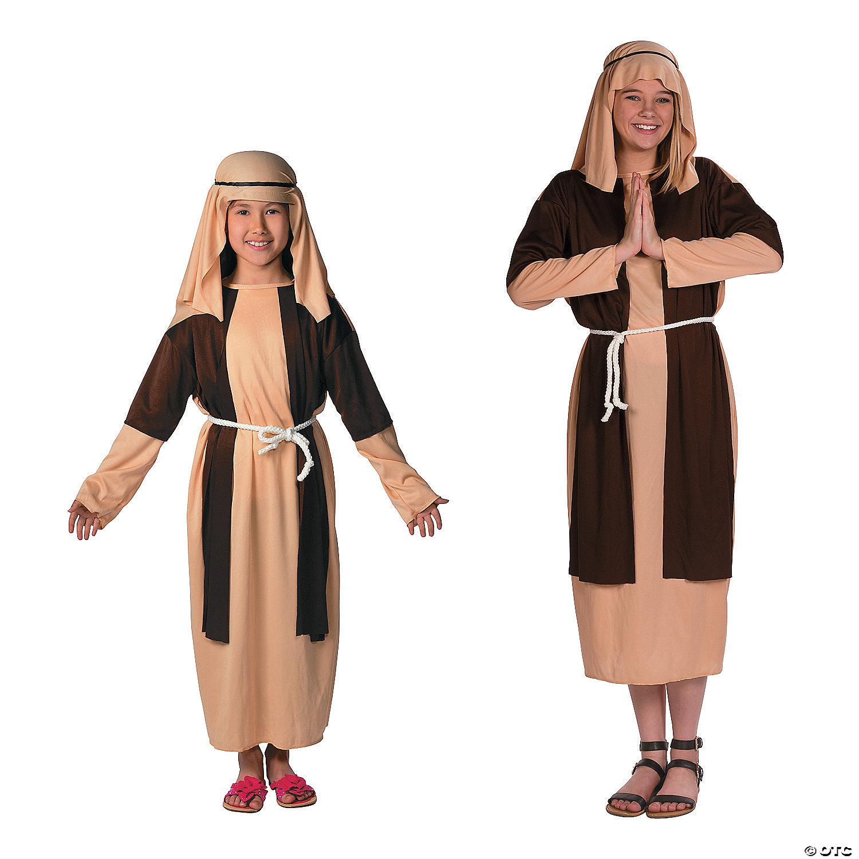 Deluxe Brown Beige Shepherd Costume