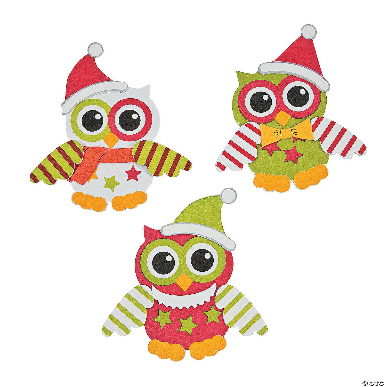 Christmas Owl.Christmas Owl Craft Kit