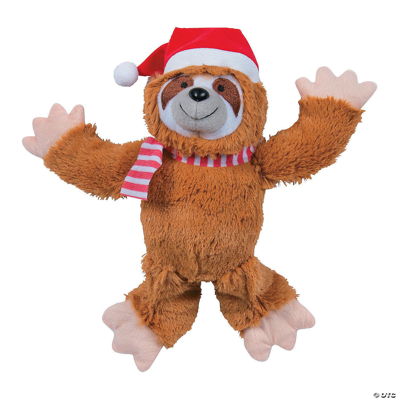 Christmas Sloth.Christmas Stuffed Sloth