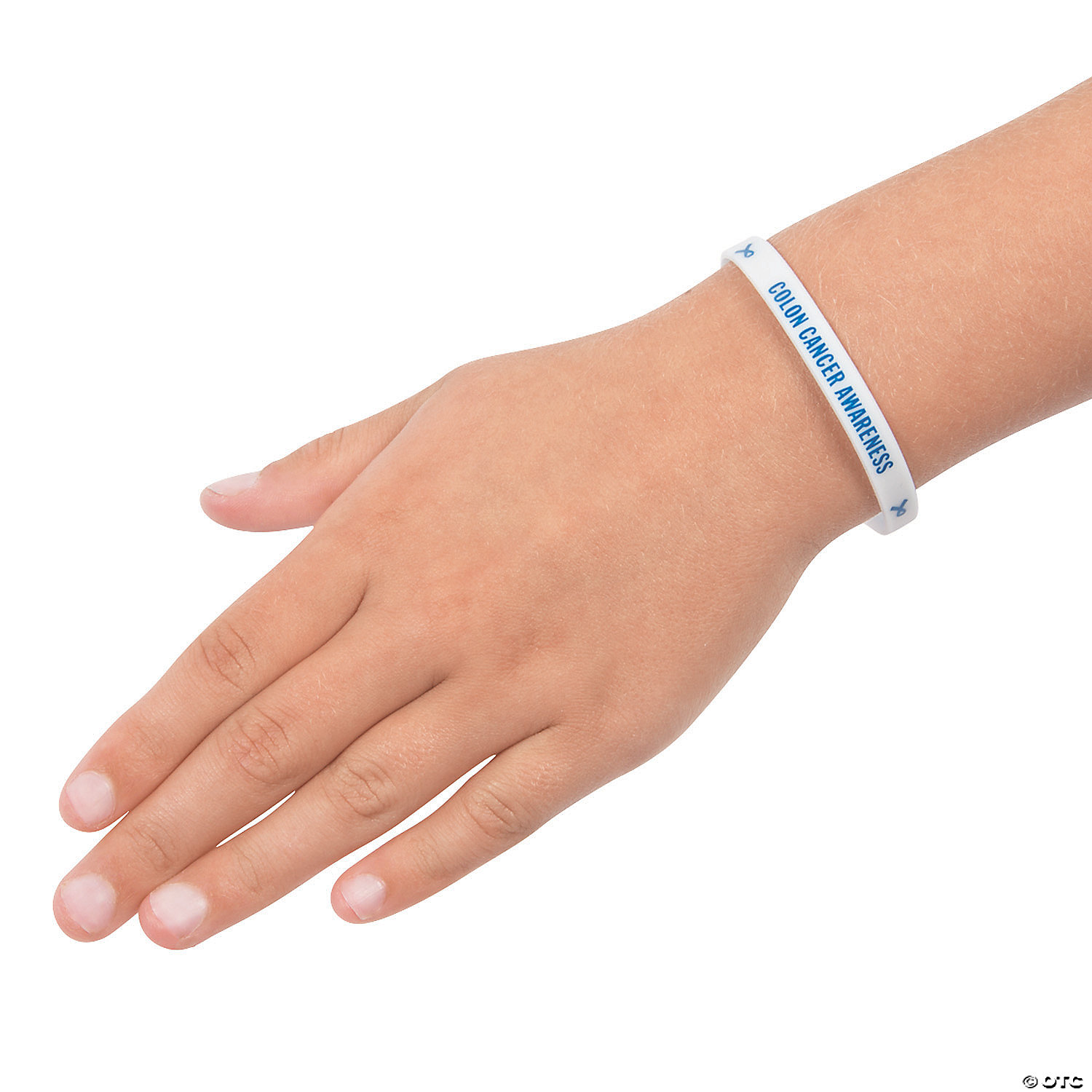 Colon Cancer Awareness Rubber Bracelets On Card Discontinued