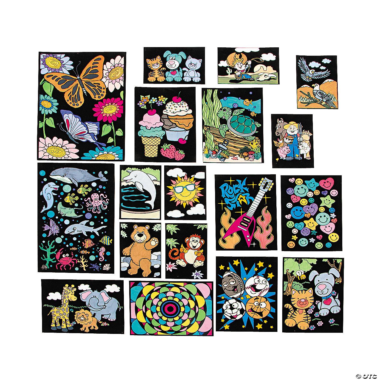 Amazon.com: Stuff2Color Cosmos - 16x20 Fuzzy Velvet Coloring ... | 1500x1500