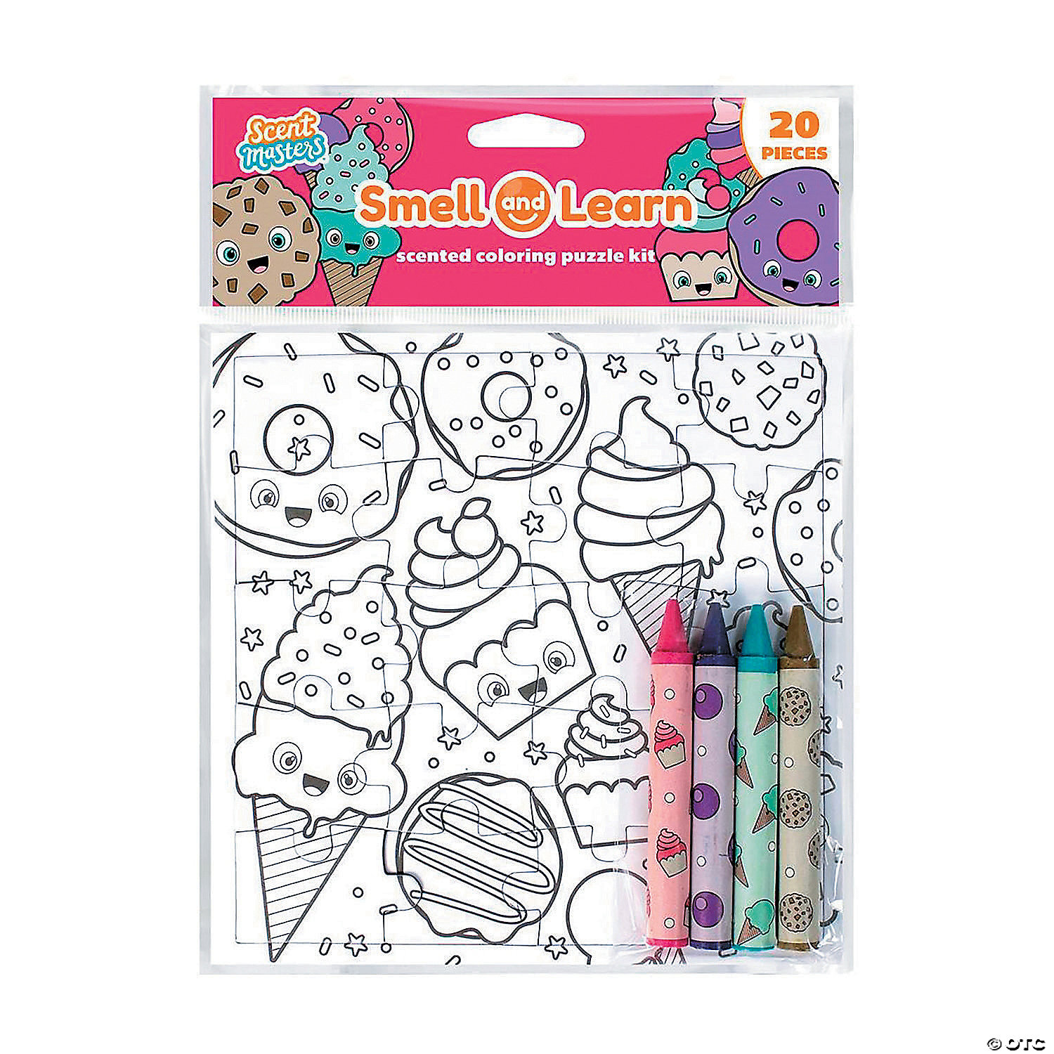 - Color Your Own Sweets Puzzle With Scented Crayons - Discontinued
