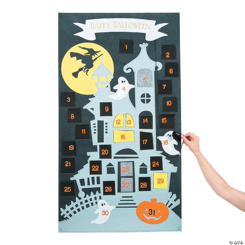 Halloween Countdown Calendar - Oriental Trading