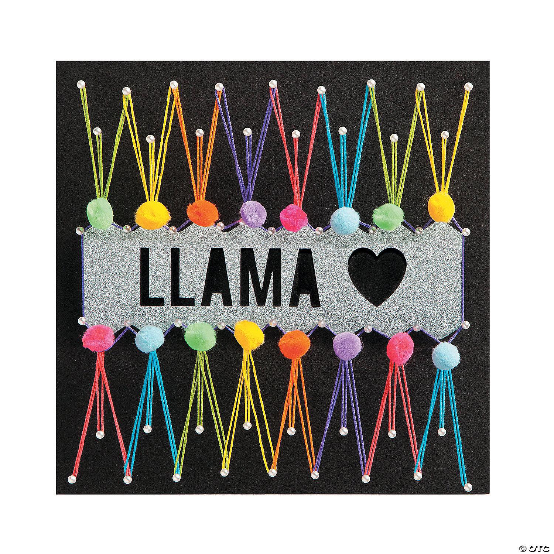 Llama String Art Kit