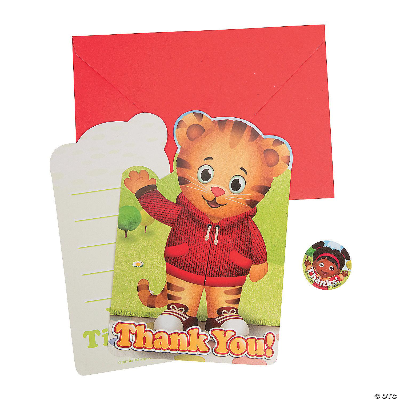 Daniel Tiger's Neighborhood™ Thank You Cards