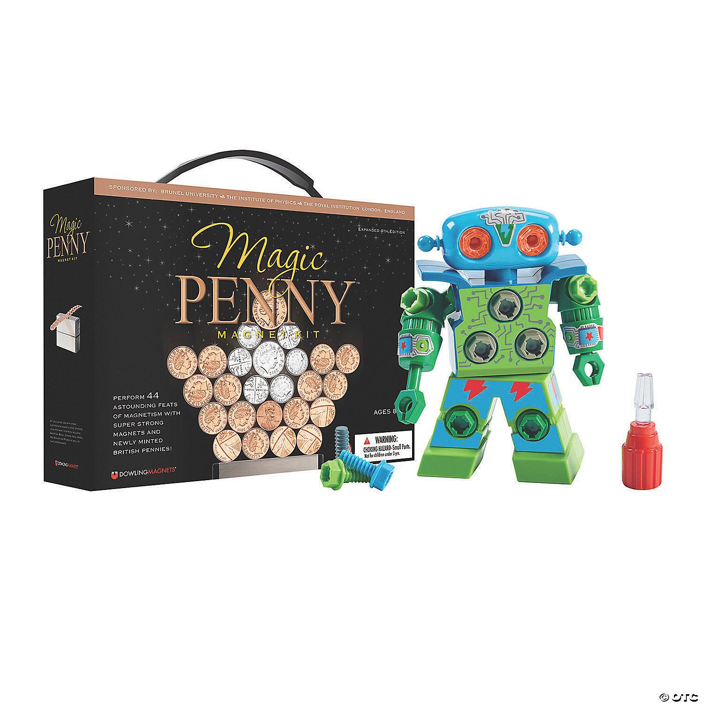Design Drill Robot Magic Penny Stem Boredom Buster Kit