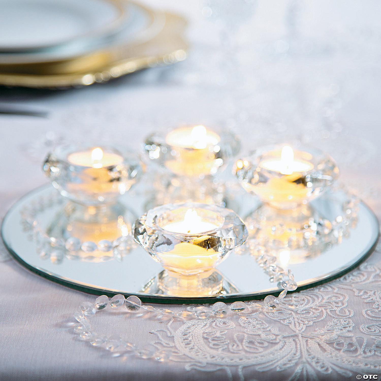 Diamond Tea Light Candle Holders
