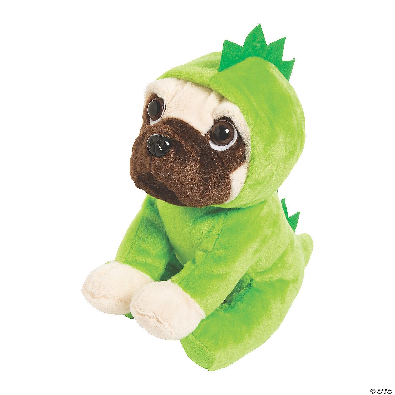 Realistic Pug Stuffed Animal, Dinosaur Stuffed Pug Oriental Trading