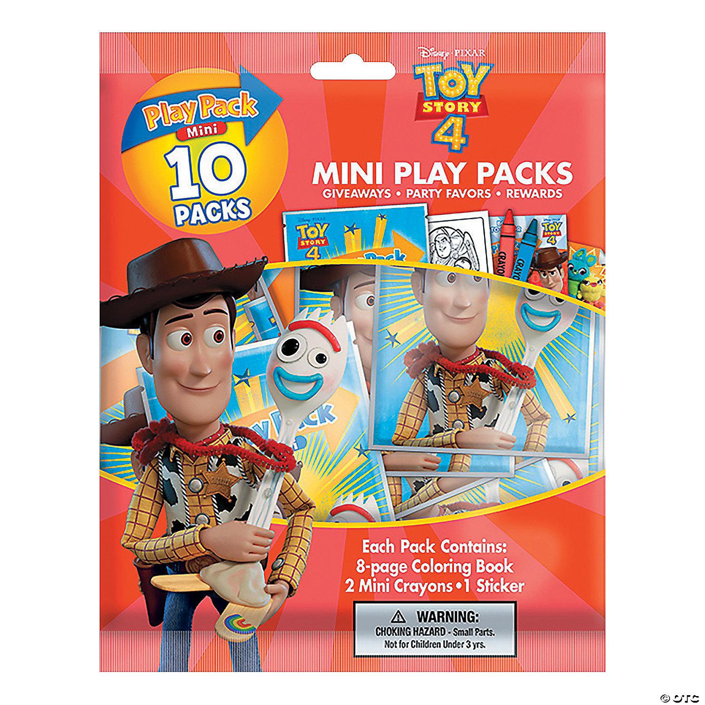 Disney Toy Story 4 Mini Stationery Play Packs Oriental Trading