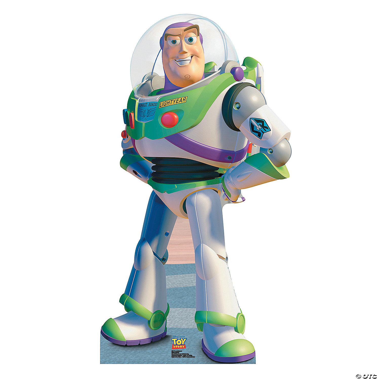 Enjoyable Disney Toy Story Buzz Lightyear Cardboard Stand Up Download Free Architecture Designs Scobabritishbridgeorg
