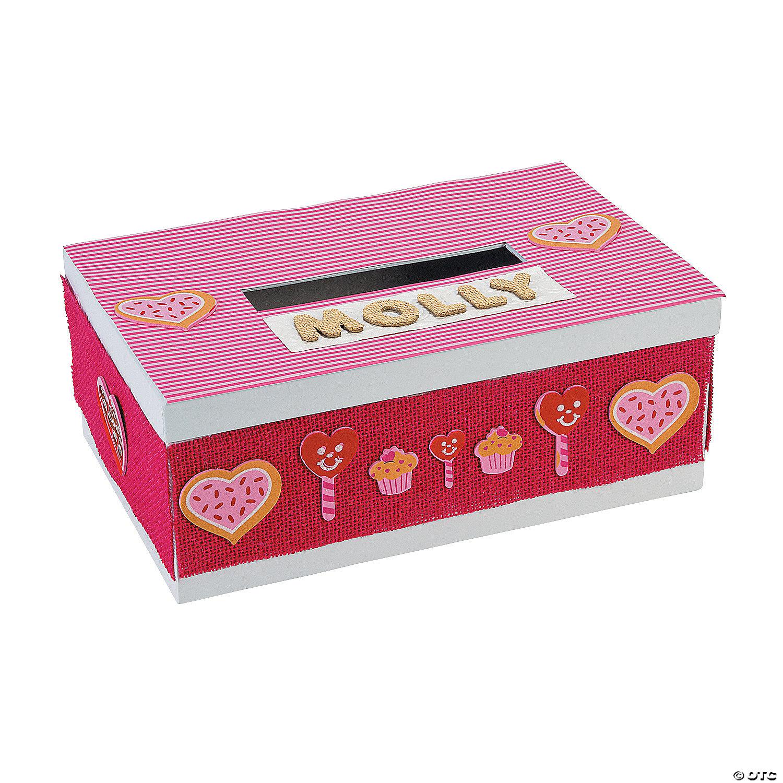 Diy White Valentine Card Box
