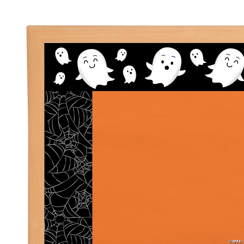 Double Sided Halloween Bulletin Board Borders Oriental Trading