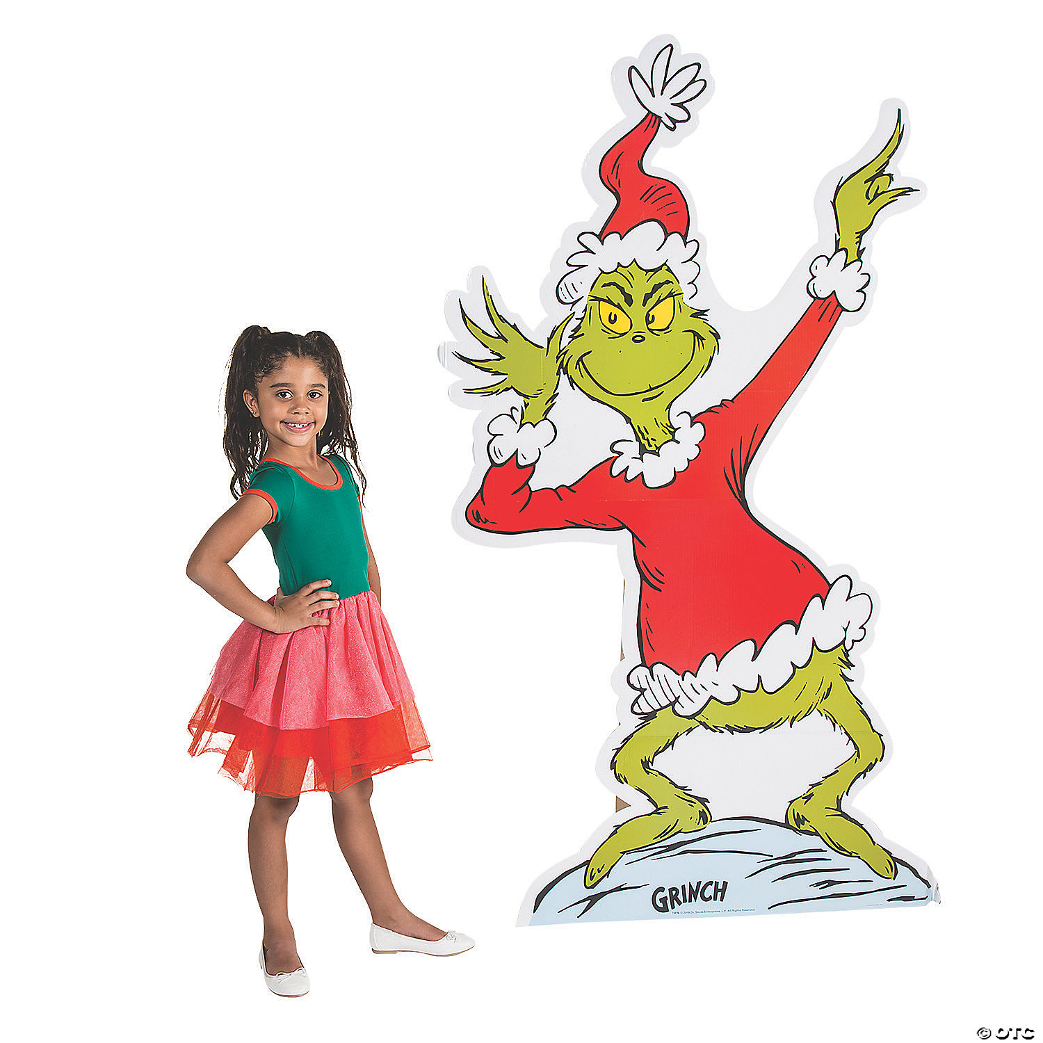 Dr Seuss The Grinch Cardboard Stand Up