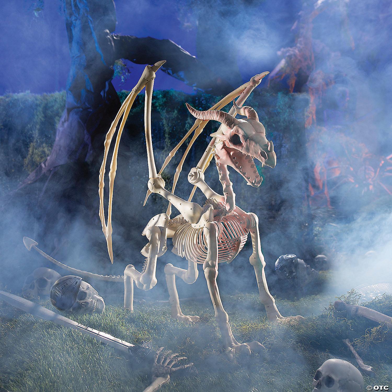 Dragon Skeleton Halloween Decoration Oriental Trading