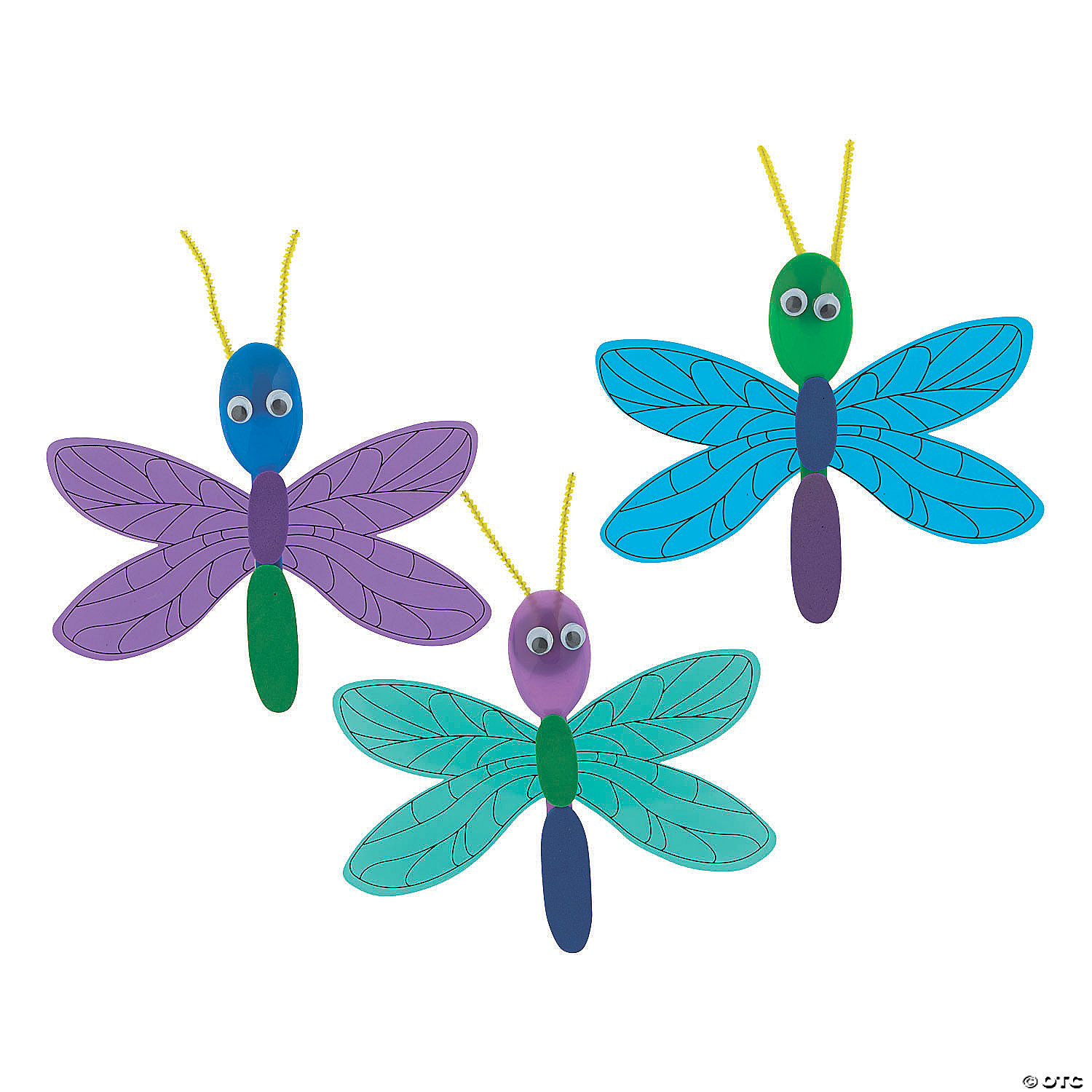 Image result for dragon fly spoon craft oriental trading