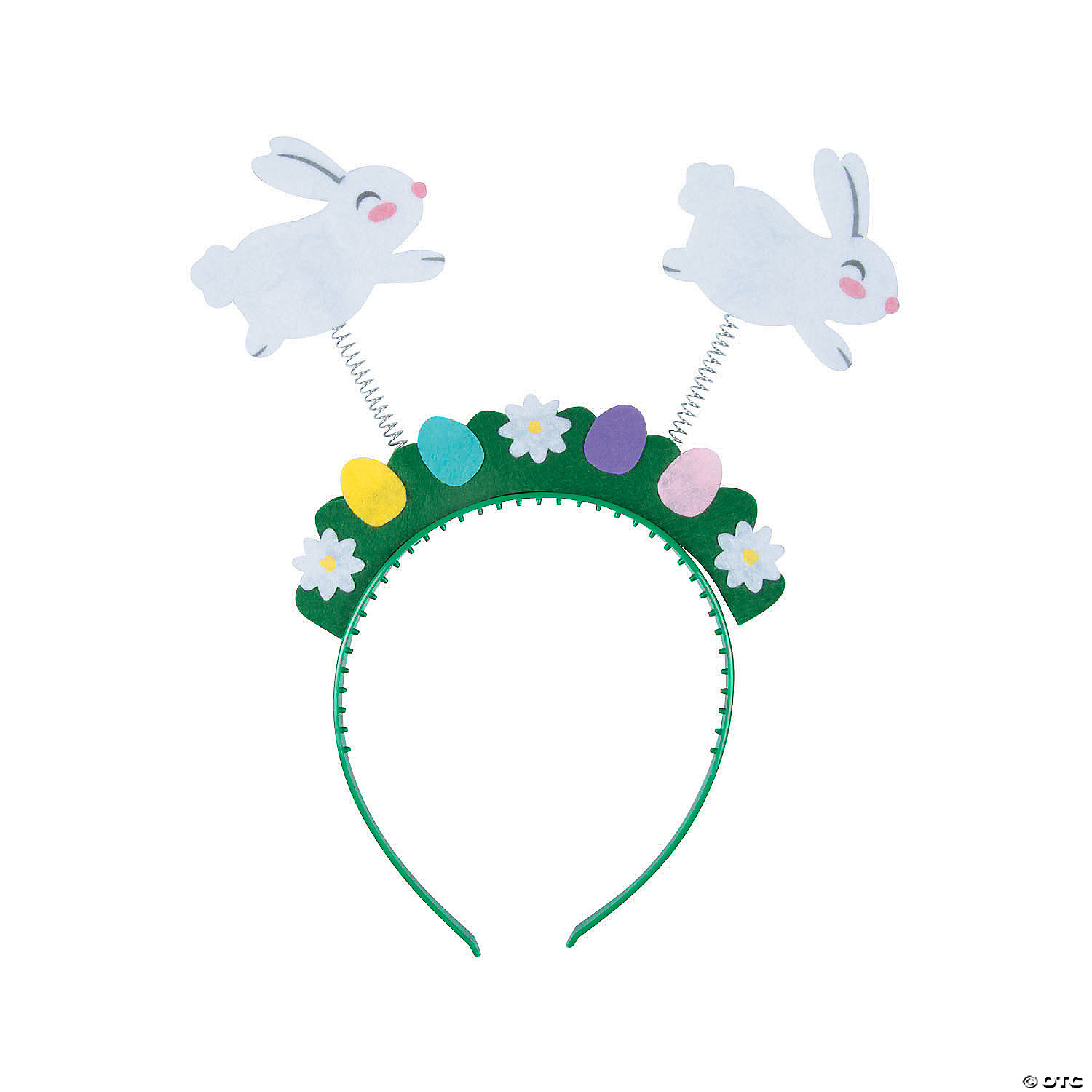 Chick Head Boppers Easter Bunny Ears Head Boppers For Kids /& Adult 27x25x1.5 cm