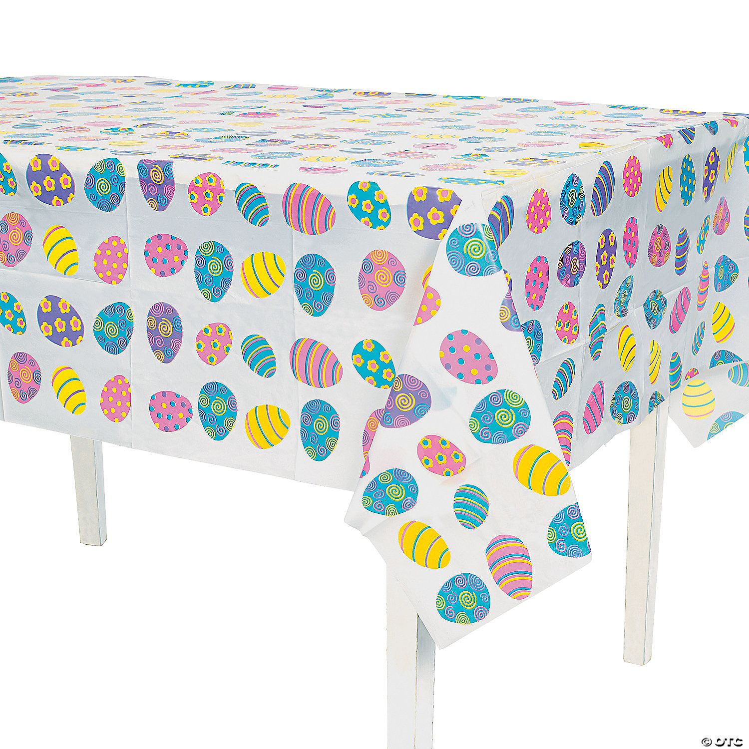 Easter Plastic Tablecloth
