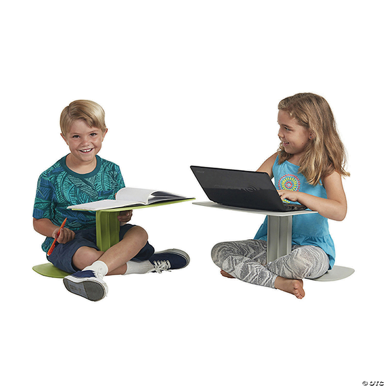 ECR4Kids The Surf Portable Lap Desk//Laptop Stand//Writing Table Navy