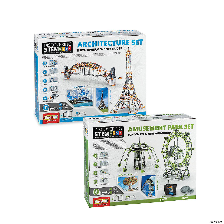 Engino Deluxe Engineering Kits Set Of 2 Squishy Circuits Kit Robotshop