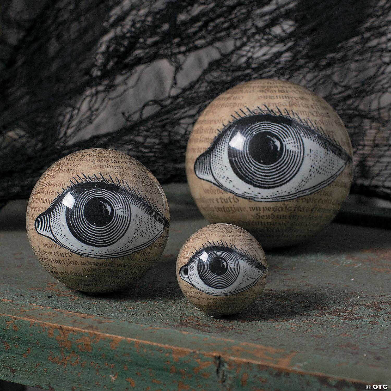 Eyeball Orbs Halloween Decorations