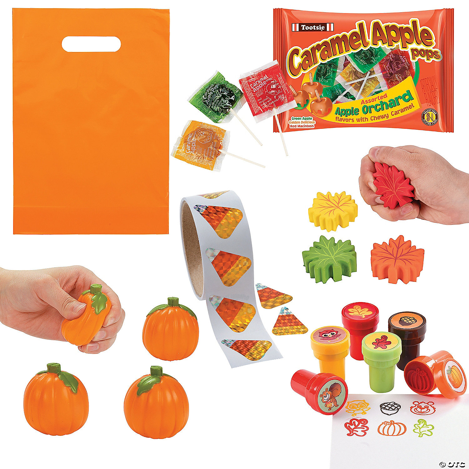 Oriental Trading Fall Boo Bag Kit for 48