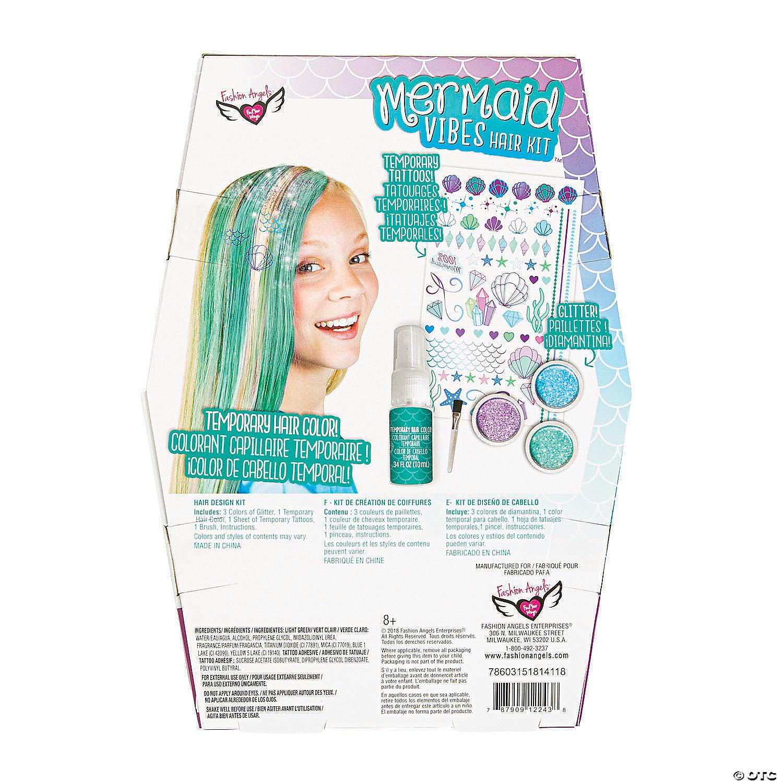 Fashion Angels® Mermaid Vibes Hair Kit™