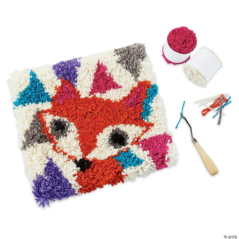 Friendly Fox Latch Hook Kit