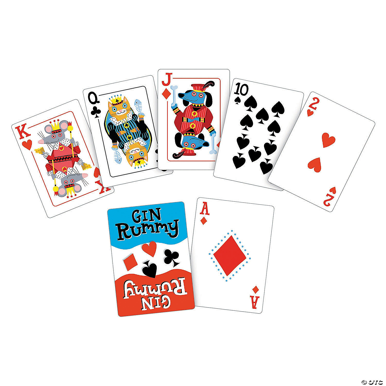 Gin Rummy Card Game Mindware