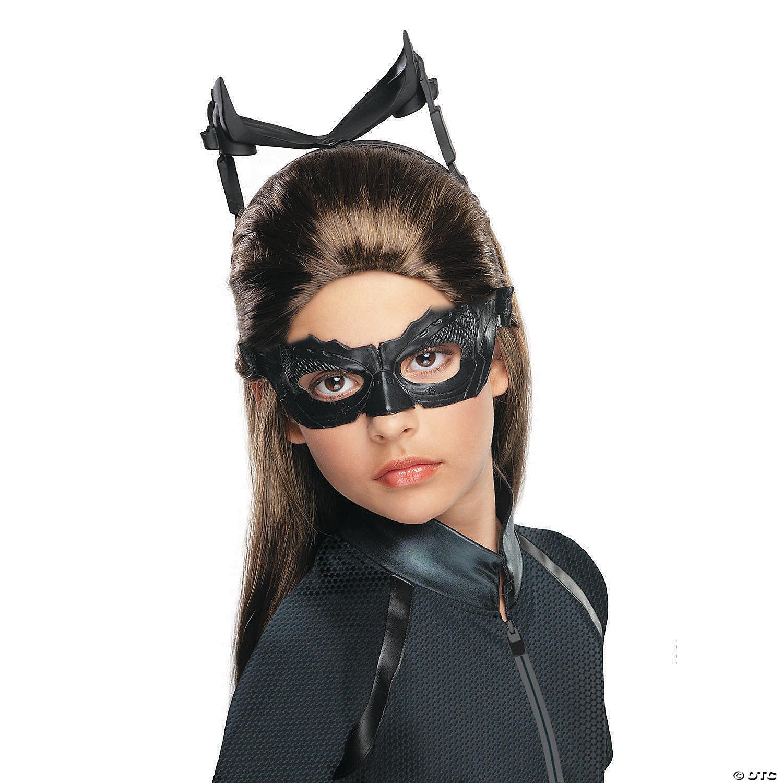 Girl S Batman The Dark Knight Rises Catwoman Wig Oriental Trading
