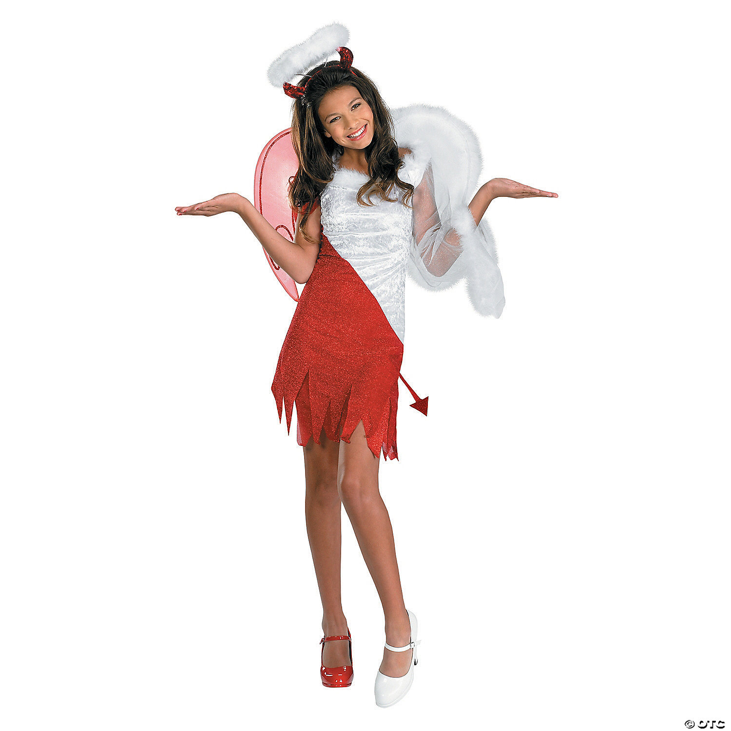 Girl S Heavenly Devil Costume Oriental Trading