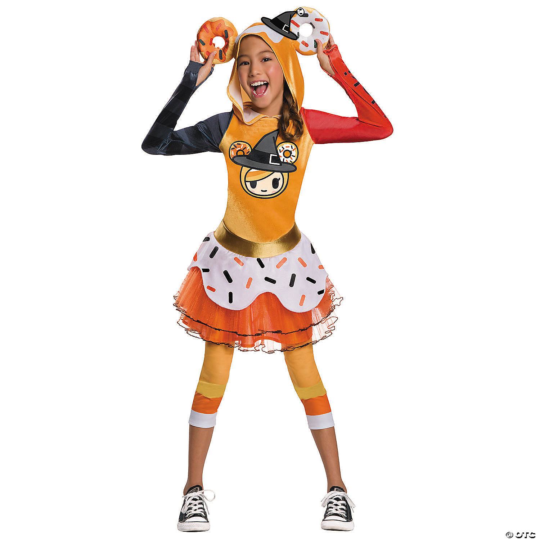 Girl S Tokidoki Donutella Halloween Costume Oriental Trading