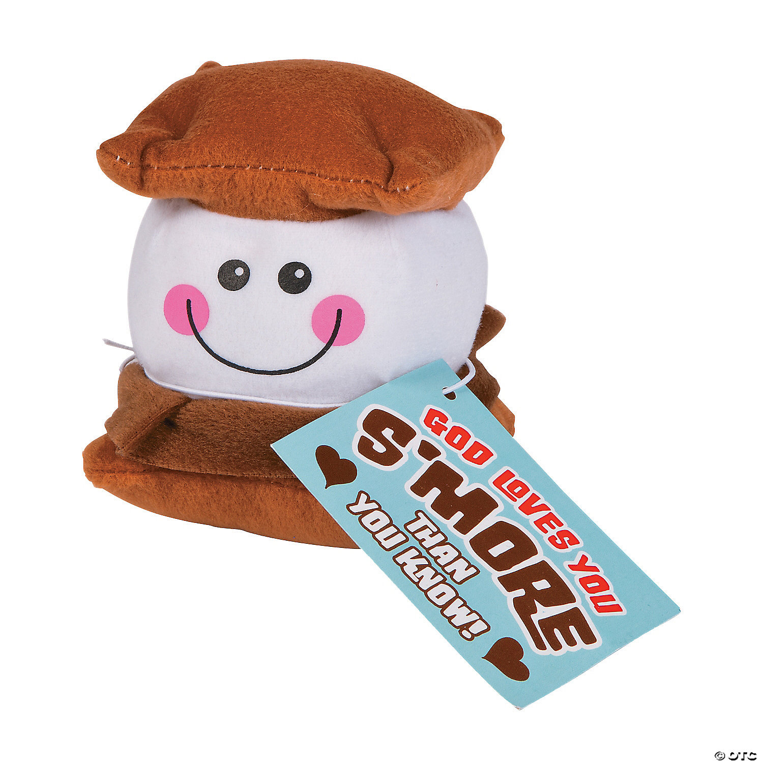 Smores Stuffed Animal, God Loves You S More Plush Toys Discontinued