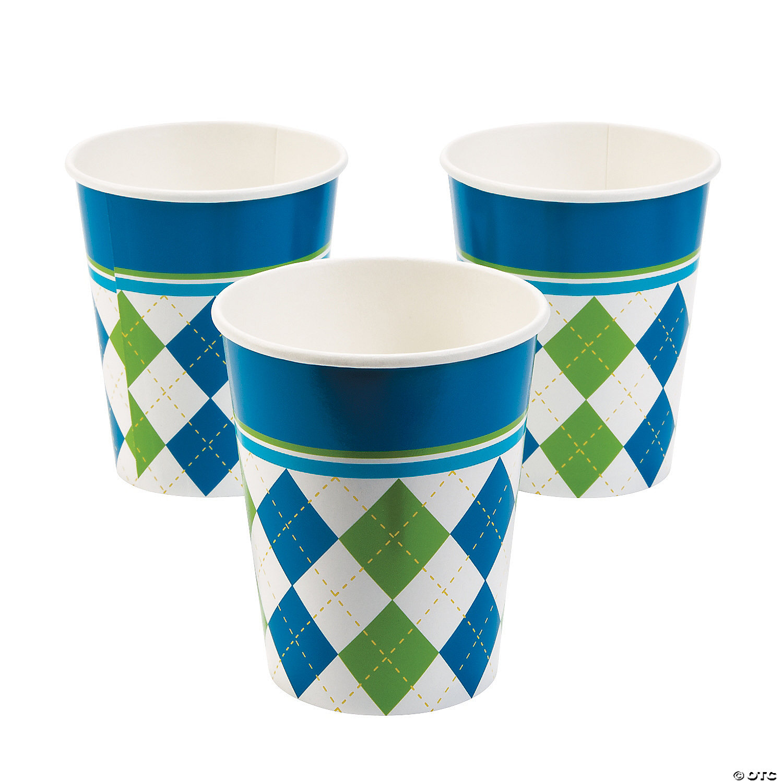 Golf Par Tee Paper Cups Oriental Trading