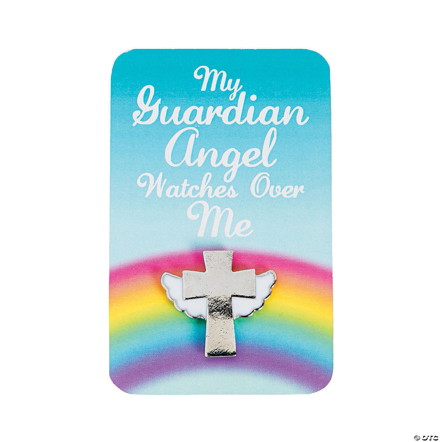 Guardian Angel Pins with Card