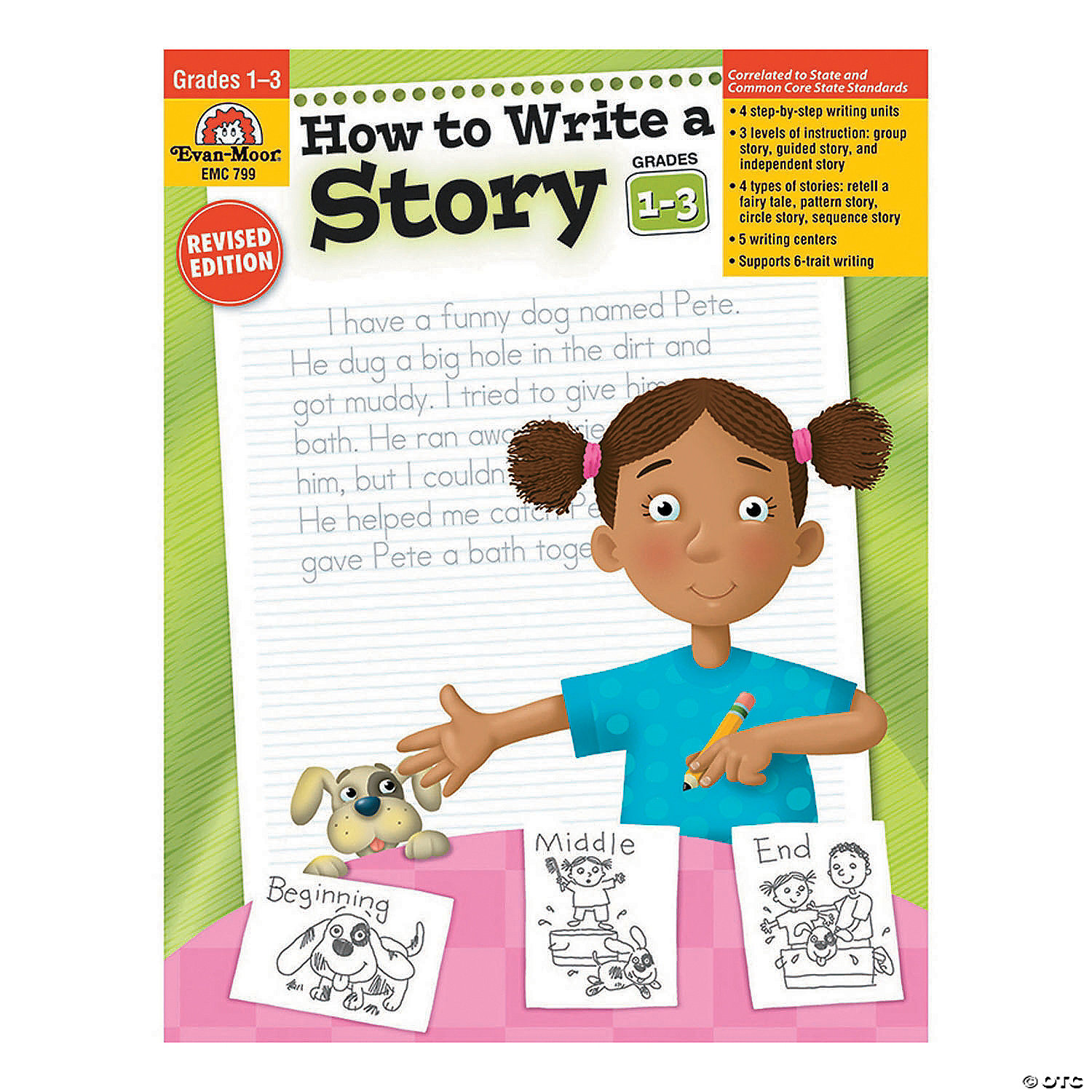 How To Write A Story Teacher Resource Book Grades 1 3 Oriental Trading