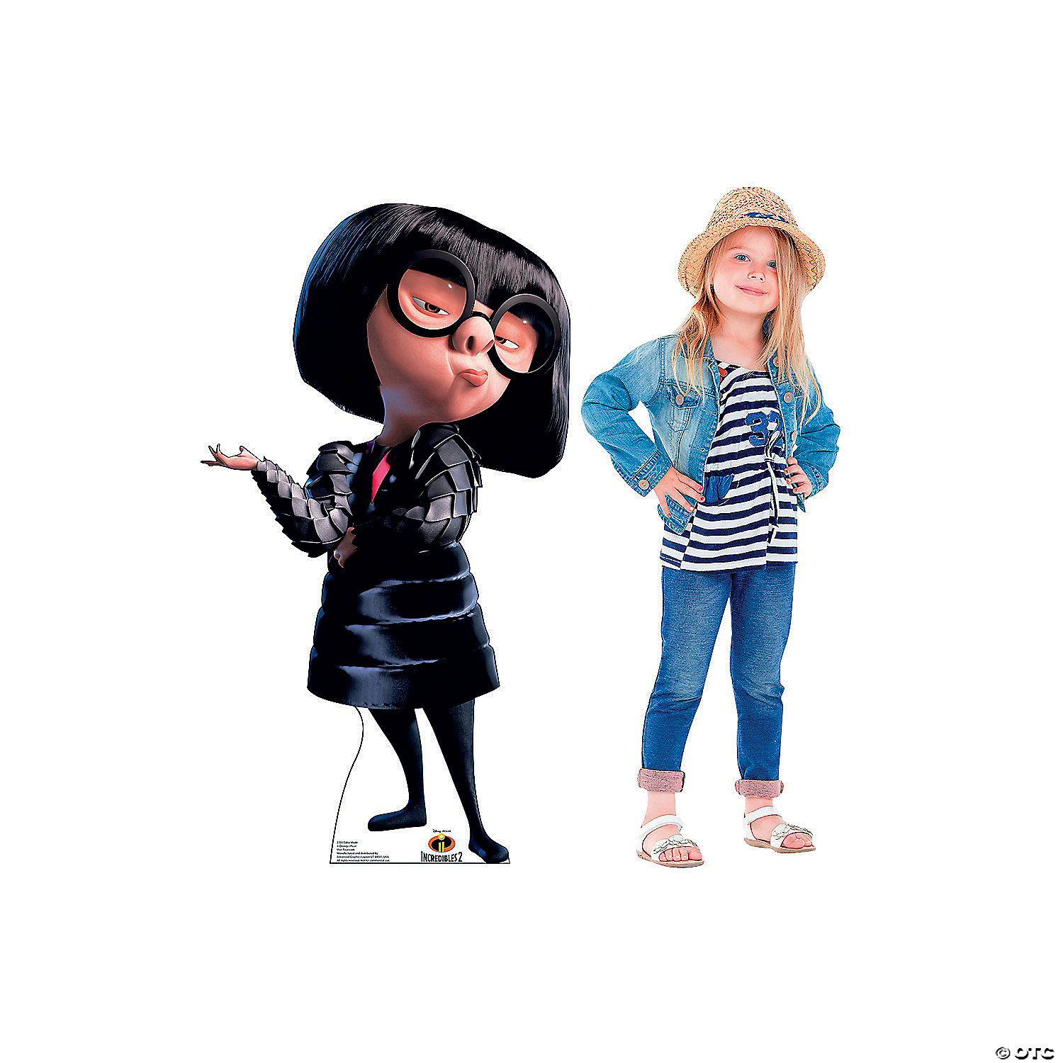 Incredibles 2 Edna Mode Stand Up Oriental Trading