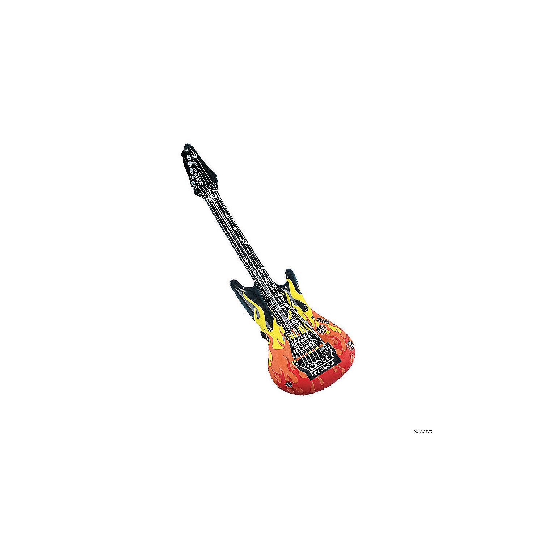 U.S Toy Rock Guitar Inflate