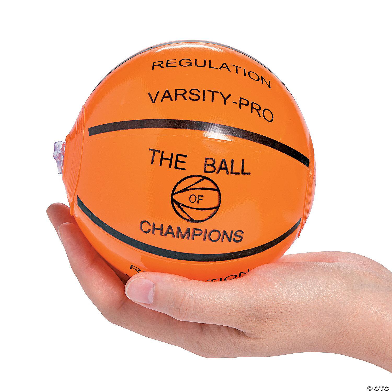 12 per unit Mini Inflate Sports Balls