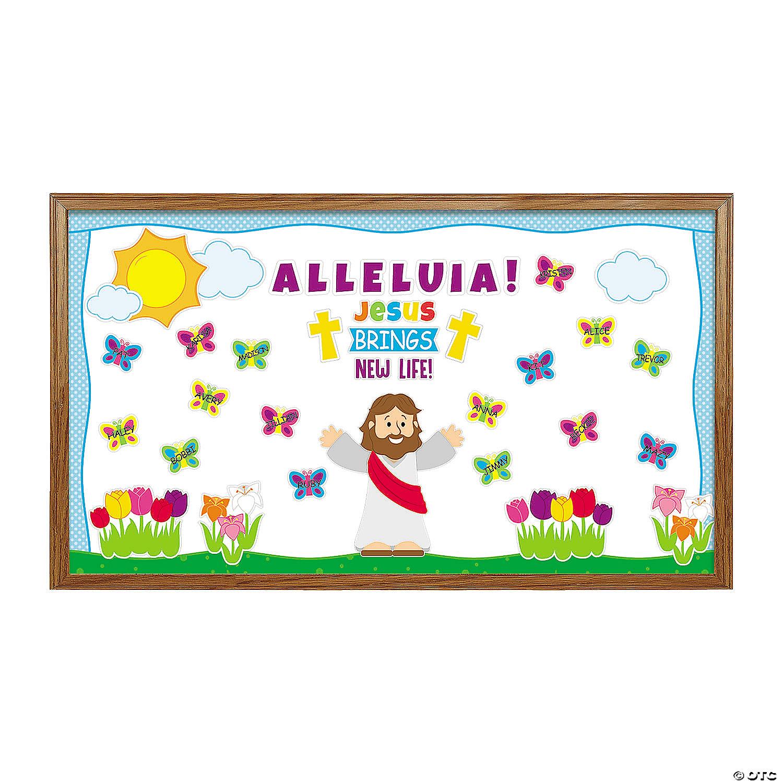 Jesus Gives New Life Bulletin Board Set