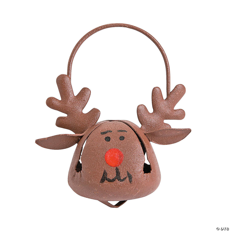 Metal Tree Reindeer Ornament