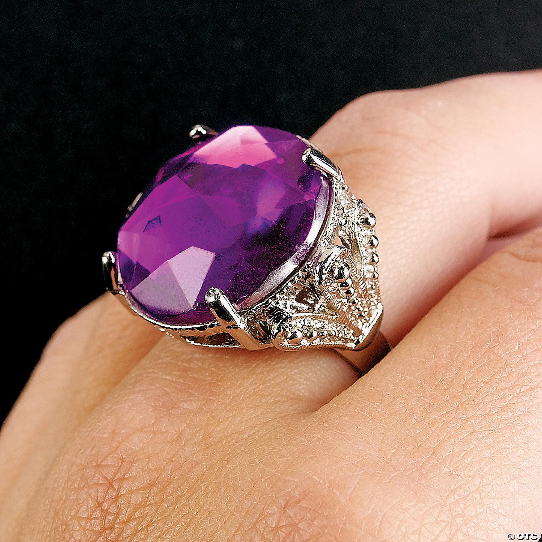 Jumbo Rhinestone Rings Oriental Trading