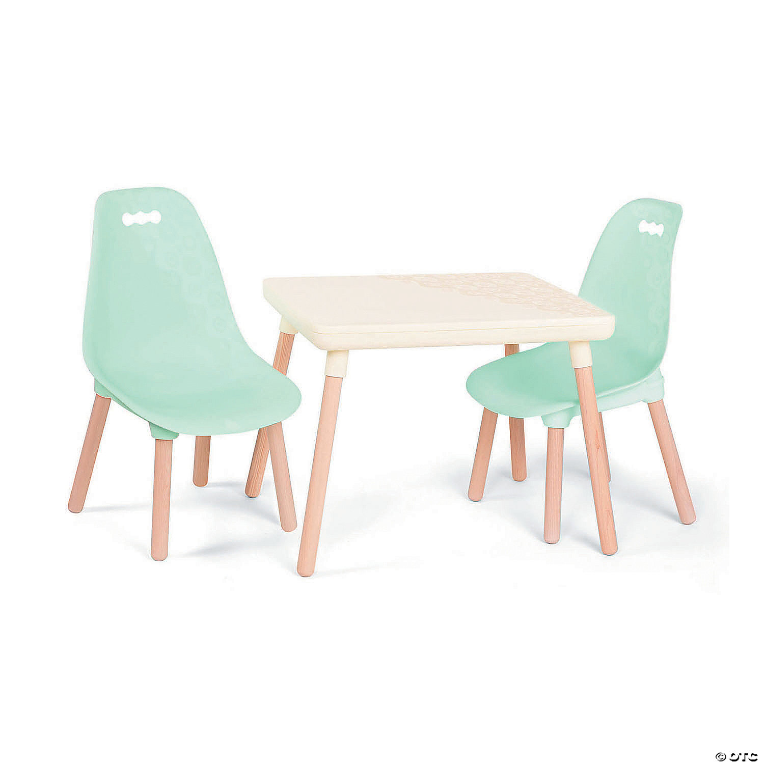 Kid century modern table and chair set