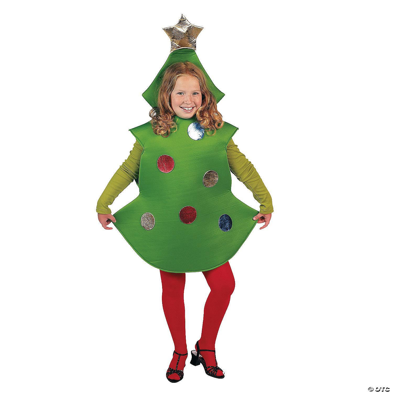 Christmas Tree Hat.Kid S Christmas Tree Costume