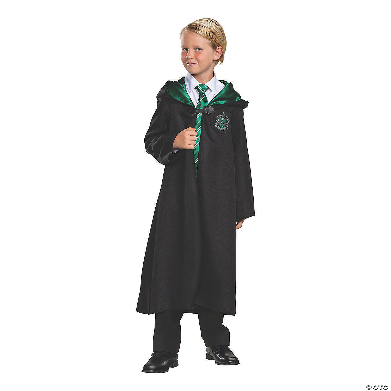 Kid S Classic Harry Potter Slytherin Robe Oriental Trading