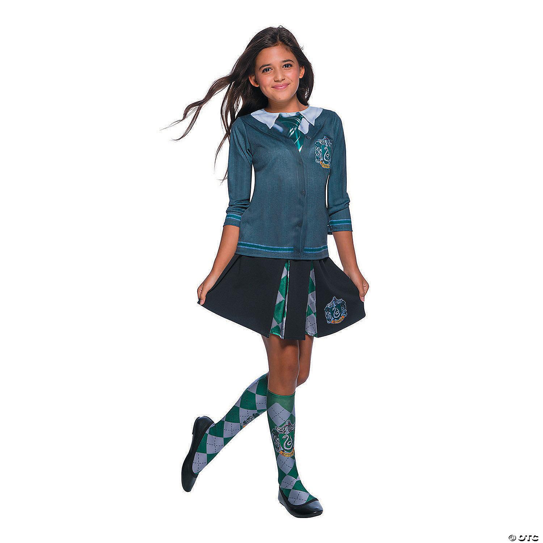 Kid S Wizarding World Of Harry Potter Slytherin Costume Shirt Oriental Trading