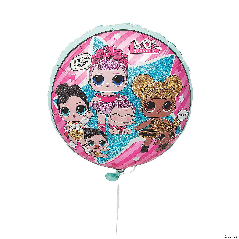 L O L Surprise 18 Mylar Balloon Oriental Trading