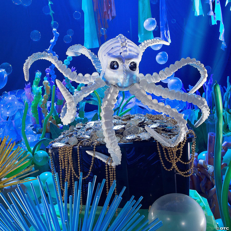 Large Light Up Octopus Skeleton Halloween Decoration Oriental Trading