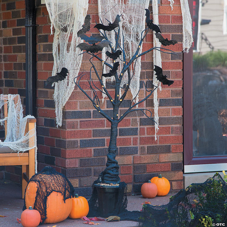 Light Up Creepy Tree Halloween Decoration